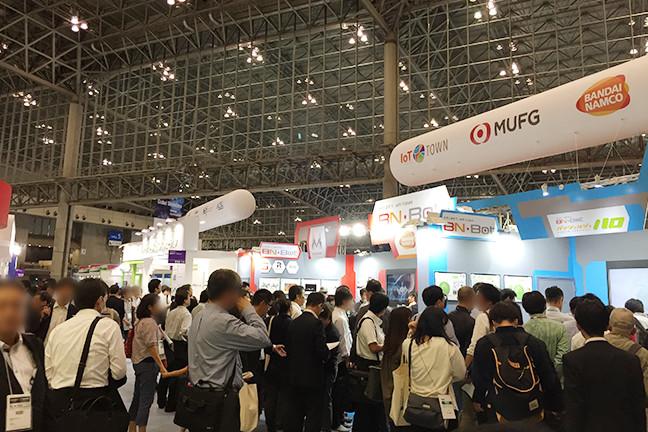 CEATEC JAPAN2017会場