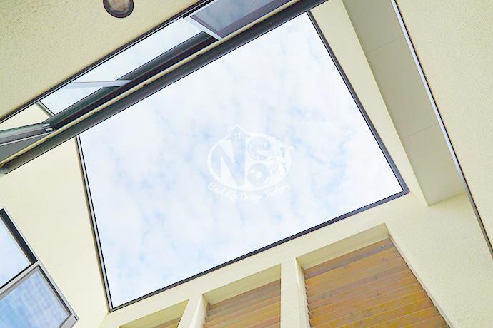 HOUSE CANVAS(ハウスキャンバス)内観吹き抜け天井写真