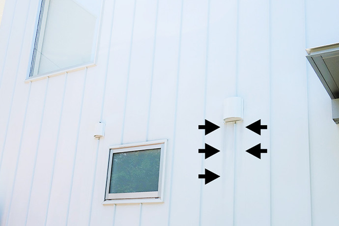 千葉県S様邸のゼロキューブ(ZERO-CUBE)の外壁写真