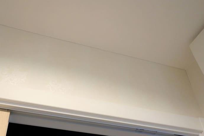壁と天井の取合部分