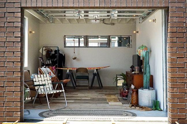 BRICK RENTAL HOUSE リビング写真