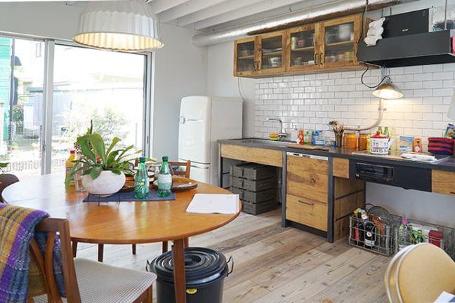 BRICK RENTAL HOUSE ダイニングキッチン写真