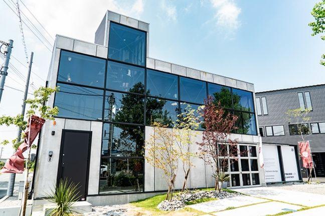 静岡県浜松市バランスデザインDAYTONA HOUSE(デイトナハウス) オフィス兼ショールーム デイバージョン