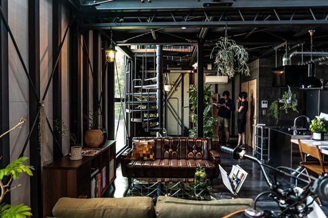 静岡県浜松市バランスデザインDAYTONA HOUSE(デイトナハウス) オフィス兼ショールーム 内観写真