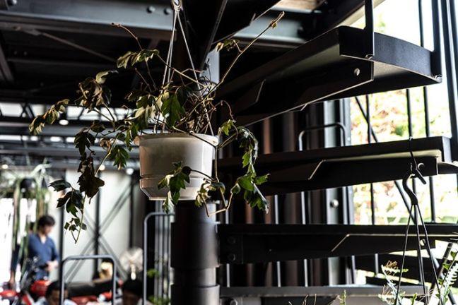 静岡県浜松市バランスデザインDAYTONA HOUSE(デイトナハウス) オフィス兼ショールーム 内観写真インテリア