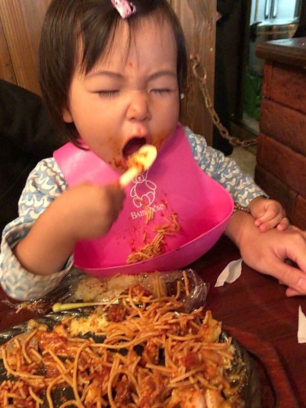 子供も夢中のスパピザ